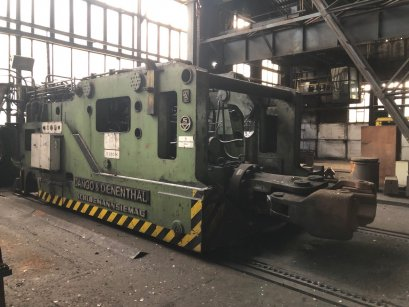 ZDAS CKW 1600 ton forging press + 13 ton D&D Manipulator